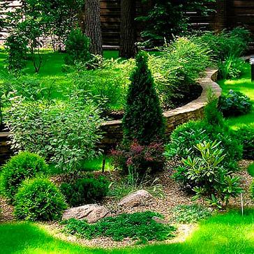 Ландшафтный дизайн и озеленение в Минске