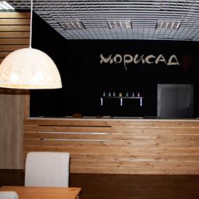 Реконструкция фитостены в ресторане «Морисад»